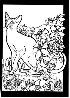 This Cats Basket Coloring Page Is Available For Free In Cat Pages You Can Print It Out Or Color Online On Hellokids