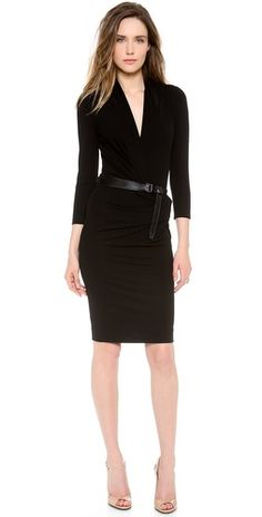 Kaufman Franco Long Sleeve Dress | SHOPBOP