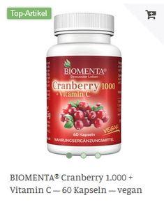 Erhältlich im onlineshop von biomenta.de mit 15% Cashback für KGS Partner Vitamin C, Vegan, Food, Essen, Meals, Vegans, Yemek, Eten