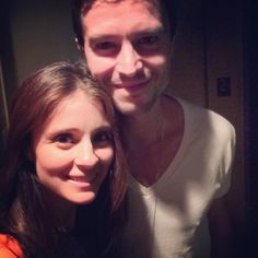 Roswell reunion. Shiri Appleby and Jason Behr - 15 years later.