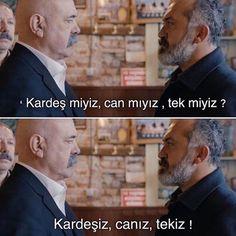 - Kardeş miyiz, can mıyız, tek miyiz? Some Beautiful Quotes, Turkish Actors, Bff, Books, Movies, Fictional Characters, Instagram, Autos, Humor