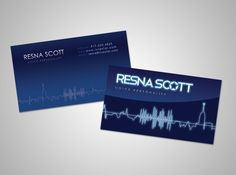 Sultry custom business cards voiceover voice businesscards sleek custom business cards voiceover voice businesscards colourmoves