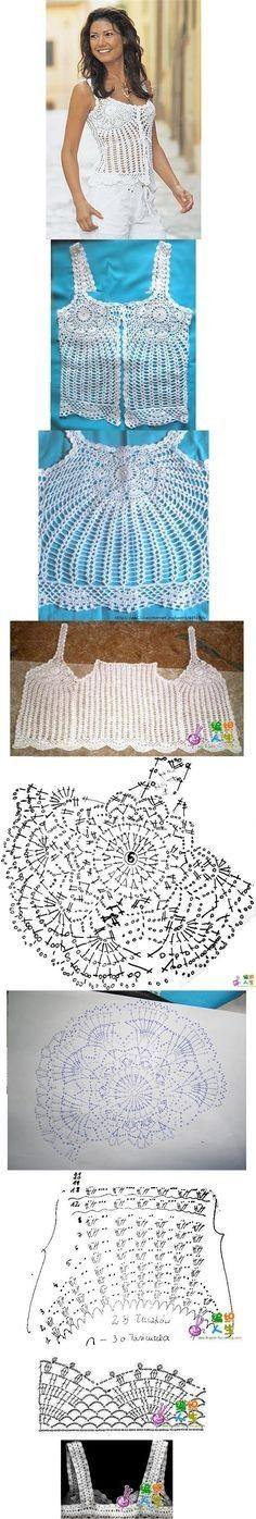 870 mejores imágenes de Patrones de flusas tejidas | Crochet ...