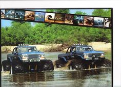 actually pic of bigfoot 1 & 2. Not the ones made later to look like them.