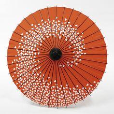 和傘 - 紙舞日傘 桜渦