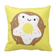 Kawaii Donut Pillow