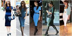 sukienka obcisła victoria beckham Victoria Beckham, Capri Pants, Skirts, Fashion, Capri Trousers, Moda, La Mode, Skirt, Fasion