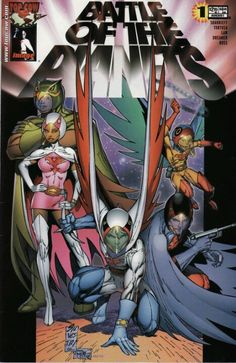 Battle of the Planets by Marc Silvestri