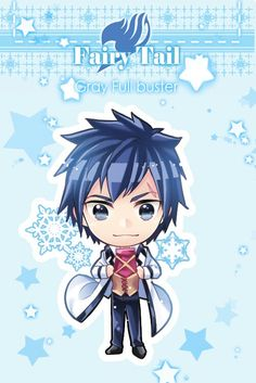 Fairy tail - gray fullbuster