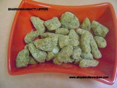 Sarkaravaratti Upperi | Simple Indian Recipes