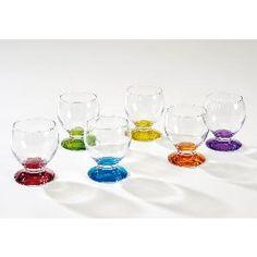 LUMINARC Coffret de 6 verres Nectar colorama 21 cl assortis