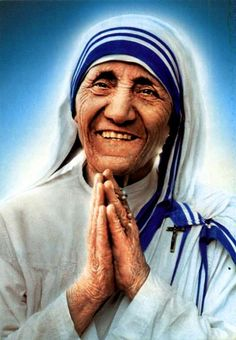 "Mother Teresa....""Here I am Lord, is it I Lord""????"