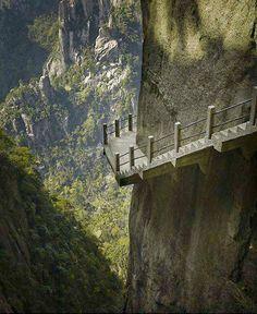 Cliffside Steps, Hunan