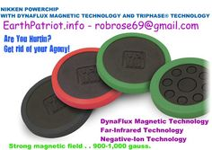 NIKKEN POWERCHIP -DYNAFLUX MAGNETIC FAR-INFRARED NEGATIVE ION  TRI-PHASE® TECHNOLOGY~~NEW NIKKEN POWERCHIP ! Do You Hurt ? Magnets Take Away The Hurt! This is not Rocket Science People.  Your in Agony ~ You Place A Nikken Propitiatory Magnet On The Area ~ Agony Goes Away !  Yes It Really Is That SIMPLE !  http://www.nikken.com/shop/details/!kenko-powerchip?rkey=8c98539bb8cd9b5268264634f7247046