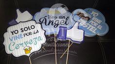 letreros con frases divertidas para bautizo