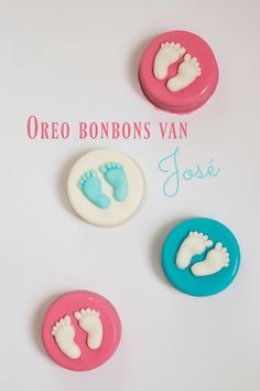 #Oreo #bonbons Een super makkelijk #recept met 3 ingrediënten #BabyGenderParty Gender Party, Baby Gender, Oreo, Babyshower, Van, Sweets, Desserts, Tasty, Creative
