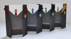 Harry Potter Hogwarts School House Uniform Gift Card by HRtistry