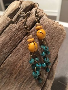 A personal favorite from my Etsy shop https://www.etsy.com/listing/528766851/acai-seed-and-wood-dangle-earrings