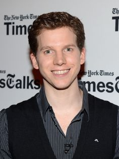 Stark Sands attends TimesTalks Presents: Kinky Boots at TheTimesCenter on March 18, 2013 in New York City.