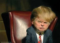 Trump by Jason Seiler. Caricatures of Celebrities – new collection -Fun Images
