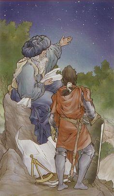 XVII. The Star: Tarot of the Holy Grail