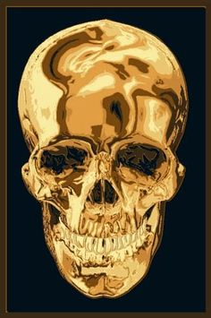 Skull Area Rug