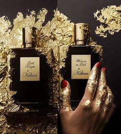 Die neusten Kreationen von By Kilian aus seiner Serie From Dusk till Dawn Woman in Gold und Gold Knight Eau de Parfum jeweils eines für Sie und Ihn.  Woman in Gold ein Parfum, so glanzvoll und schillernd, wie die Frau, die es trägt.  Gold Knight Elegant, gewagt und verführerisch.