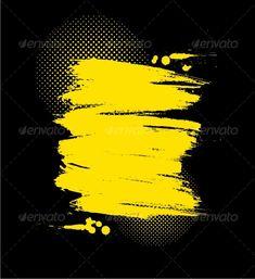 Realistic Graphic DOWNLOAD (.ai, .psd) :: http://jquery.re/pinterest-itmid-1000046667i.html ... Vector grunge illustration ...  backdrop, background, banner, black, card, design, graffiti, grunge, splash, splat, spot, stains, vintage, wallpaper, yellow  ... Realistic Photo Graphic Print Obejct Business Web Elements Illustration Design Templates ... DOWNLOAD :: http://jquery.re/pinterest-itmid-1000046667i.html