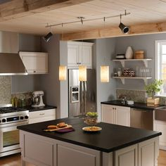 13 best Lighting images on Pinterest | Track lighting fixtures ... Kitchen Trac Lighting Ideas Ce Html on