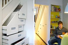 Looking for ideas to use the space under your stairs? Check out these pictures from HouseLogic that showcase unique ways to use space under stairs.