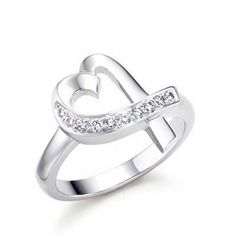 Tiffany  Co Outlet Paloma Picasso Loving Heart Diamonds Ring