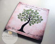 Baby Shower Fingerprint Tree Sign, Guest Book Alternative, Welcome To The World Little One Sign, Baby Shower Keepsake Baby Shower Fingerprint, Fingerprint Tree, Dates Tree, Lord, Guest Book Alternatives, Signs, Craft Stores, Baby Shower Decorations, Wall Design