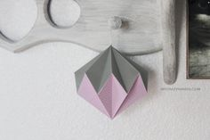 you always need a diamond . nursery hanging decor . pink silver mixed -by mycrazyhands.com
