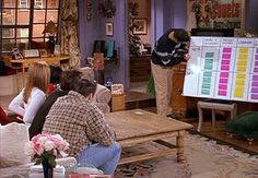 this was my favorite episode.  Where they play the trivia game...       @Andrea McFetridge: Every week the TV Guide comes to Chandler and Joey's apartment. What name appears on the address label?