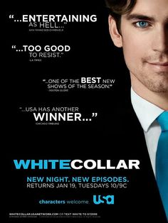 White Collar is a USA Network television series created by Jeff Eastin, starring Matt Bomer as con-man Neal Caffrey and Tim DeKay as Special Agent Peter Burke.
