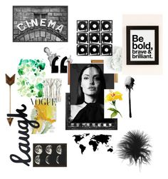 Angelina Jolie by chiarettica on Polyvore featuring polyvore and art