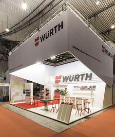 Würth / Logimat / Stuttgart - WUM Design Messebau