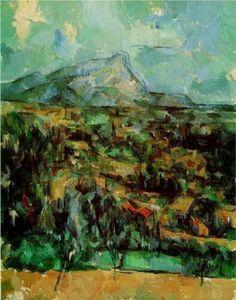 Mont Sainte-Victoire, 1902 - Paul Cezanne