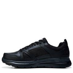 Skechers Work Men's Flex Advantage Memory Foam Slip Resistant Work Shoes (Black) - 11.0 2E
