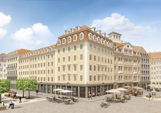 Patrizia investiert am Dresdener Neumarkt. Foto: Patrizia Immobilien AG