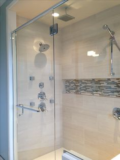 Fascinating bathtub shower niche ideas to refresh your home Shower Remodel, Bathroom Style, Bathroom Niche, Shower Room, Shower Niche, Bathroom, Seaside Bathroom, Bathroom Shower, Bathroom Design
