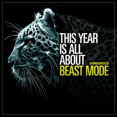 This year is all about beast mode. 💯🔥👊 Nothing less than beast mode this year 👊 It's TIME to get BUSY! 😍 Save and share this beast mode quote If you're fired up about 2019 and about making the most out of this year! #beastmode #gym #quotes #motivation #2019 #motivational