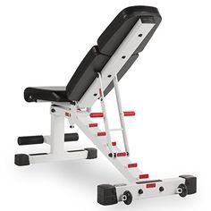 Amazon.com: XMark Adjustable Dumbbell Weight Bench XM-7630-White: Sports & Outdoors