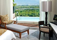 Our honeymoon suite at the Grand Luxxe similar to this. I haven't missed a vacation more than Nuevo Vallarta.