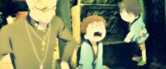 Ao no Exorcist Movie: Fujimoto Shiro, Rin and Yukio Okumura