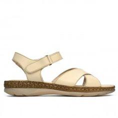 Sandale dama 5063 bej Shoes, Products, Fashion, Sandals, Moda, Zapatos, Shoes Outlet, Fashion Styles, Shoe