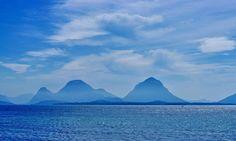 "Kewtie Bird on Instagram: ""Mountains through the haze .  #smøla #strand #mountains #view #island #korsvoll #korsvollstranda #edøya #seaview #mittnorge #travel…"""