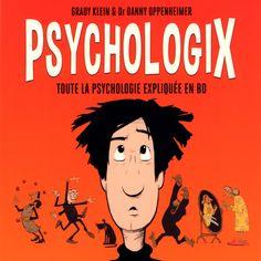 """Bande dessinée : """"Psychologix : Toute la psychologie expliquée en BD"""" Comic Books, Conscience, Comics, Cover, Movie Posters, Books To Read, Comic, Childhood, Psychology"""
