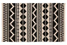 8'x11' Malia Southwestern Flat-Weave Rug , Feather   Summer Steals   One Kings Lane