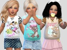 Toddler T-shirts Collection 034
